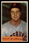 1954 Bowman #43 ERR Bob Friend  Front Thumbnail
