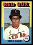 1975 Topps #232  Diego Segui  Front Thumbnail