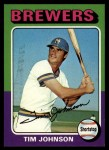 1975 Topps #556  Tim Johnson  Front Thumbnail