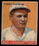 1933 Goudey #36  Tommy Thevenow  Front Thumbnail