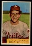 1954 Bowman #127  Del Ennis  Front Thumbnail