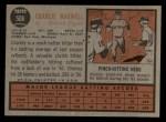 1962 Topps #506  Charlie Maxwell  Back Thumbnail