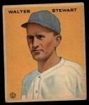 1933 Goudey #121  Walter Stewart  Front Thumbnail