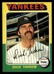 1975 Topps #241  Dick Tidrow  Front Thumbnail