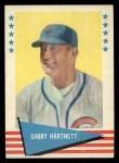 1961 Fleer #41  Gabby Hartnett  Front Thumbnail