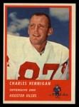 1963 Fleer #38  Charlie Hennigan  Front Thumbnail