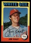 1975 Topps #243  Jim Kaat  Front Thumbnail