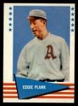 1961 Fleer #135  Eddie Plank  Front Thumbnail