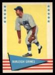 1961 Fleer #37  Burleigh Grimes  Front Thumbnail