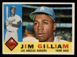 1960 Topps #255  Jim Gilliam  Front Thumbnail