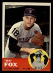 1963 Topps #44  Terry Fox  Front Thumbnail