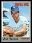 1970 Topps #315  Luis Aparicio  Front Thumbnail