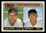 1965 Topps #49   -  Curt Blefary / John Miller Orioles Rookies Front Thumbnail
