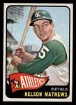 1965 Topps #87  Nelson Mathews  Front Thumbnail
