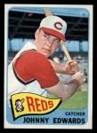 1965 Topps #418  Johnny Edwards  Front Thumbnail