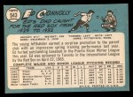 1965 Topps #543  Ed Connolly  Back Thumbnail