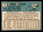 1965 Topps #105  Chico Salmon  Back Thumbnail