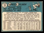 1965 Topps #105  Chico Salmon  Back Thumbnail
