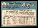 1965 Topps #529  Jerry Fosnow  Back Thumbnail
