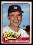 1965 Topps #388  John Blanchard  Front Thumbnail