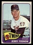 1965 Topps #529  Jerry Fosnow  Front Thumbnail
