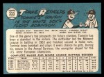 1965 Topps #333  Tommie Reynolds  Back Thumbnail