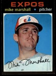 1971 Topps #713  Mike Marshall  Front Thumbnail