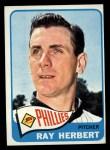 1965 Topps #399  Ray Herbert  Front Thumbnail