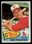 1965 Topps #472  Don Pavletich  Front Thumbnail