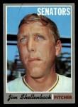 1970 Topps #389 *ERR* Jim Shellenback  Front Thumbnail