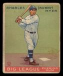 1933 Goudey #153  Buddy Myer  Front Thumbnail