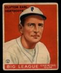 1933 Goudey #115  Cliff Heathcote  Front Thumbnail