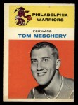 1961 Fleer #31  Tom Meschery  Front Thumbnail