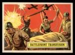 1965 Topps Battle #31   Battlefront Transfusion  Front Thumbnail