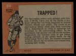 1965 Topps Battle #24   Trapped!  Back Thumbnail