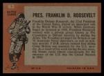 1965 Topps Battle #63  Pres. Franklin D. Roosevelt   Back Thumbnail