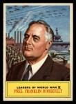 1965 Topps Battle #63  Pres. Franklin D. Roosevelt   Front Thumbnail