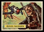 1965 Topps Battle #36   Helpless Paratrooper  Front Thumbnail