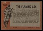 1965 Topps Battle #40   The Flaming Sea  Back Thumbnail