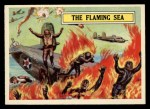 1965 Topps Battle #40   The Flaming Sea  Front Thumbnail