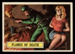 1965 Topps Battle #52   Flames of Death  Front Thumbnail