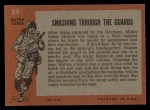 1965 Topps Battle #29   Smashing through the Guards  Back Thumbnail