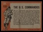 1965 Topps Battle #55   The U.S. Commandos  Back Thumbnail