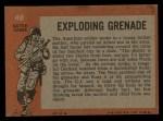1965 Topps Battle #48   Exploding Grenade  Back Thumbnail