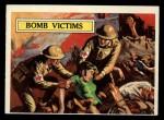 1965 Topps Battle #50   Bomb Victims  Front Thumbnail