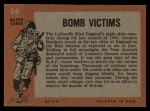 1965 Topps Battle #50   Bomb Victims  Back Thumbnail