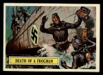 1965 Topps Battle #8   Death of Frogman  Front Thumbnail