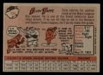 1958 Topps #184  Elvin Tappe  Back Thumbnail