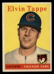 1958 Topps #184  Elvin Tappe  Front Thumbnail