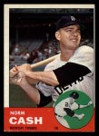 1963 Topps #445 TOU Norm Cash  Front Thumbnail